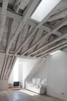 Baixa House. Sala (5.� B). Jos� Adri�o Arquitectos
