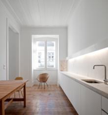 Baixa House. Cozinha (3.º C). José Adrião Arquitectos