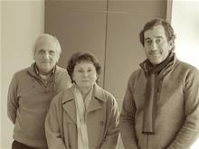 José Manuel Pedreirinho, Engenheira Natércia Cabral e Daniel Fortuna do Couto, 15 Janeiro 2019