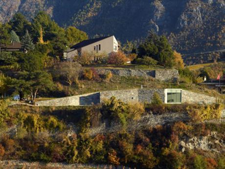 Andrea Bassi, pavillon d'été à Sierre