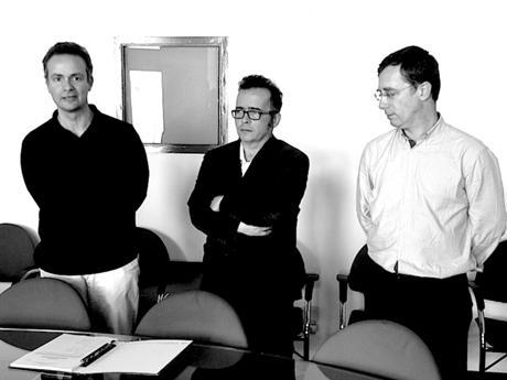 Comissão Instaladora do COB (cessante) - José Barra, Filipe Borges de Macedo e Manuel Carvalhosa