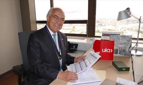 José Luis Cortés, Presidente da UIA (2021-2023)